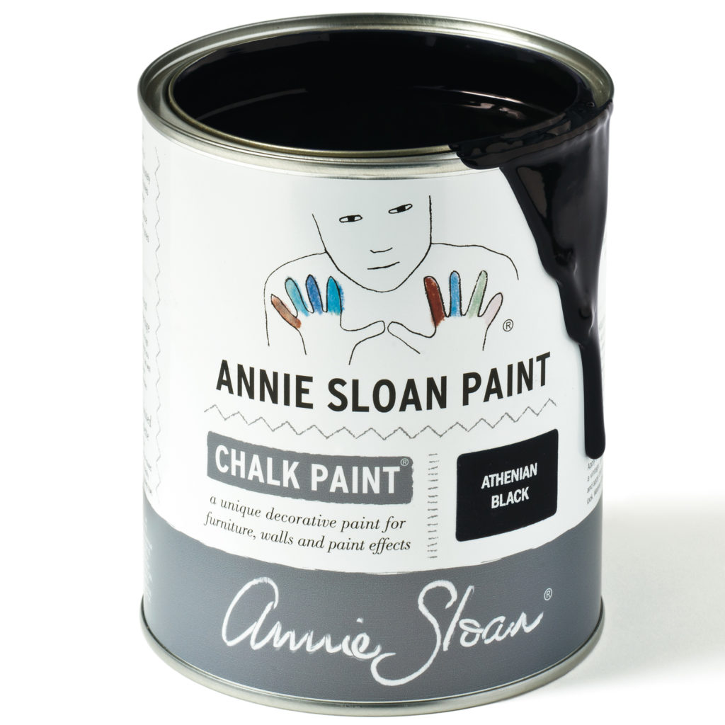 Coloris Athenian Black - Chalk Paint Annie Sloan