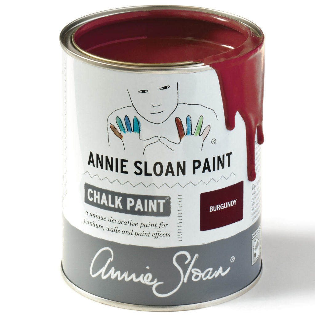 Coloris Burgundy - Chalk Paint Annie Sloan