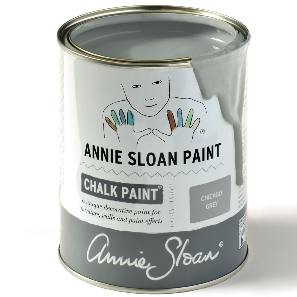 Coloris Chicago Grey Chalk Paint Annie Sloan