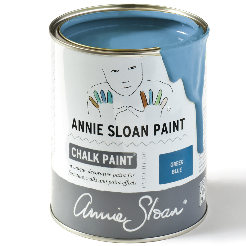 Coloris Greek Blue - Chalk Paint Annie Sloan