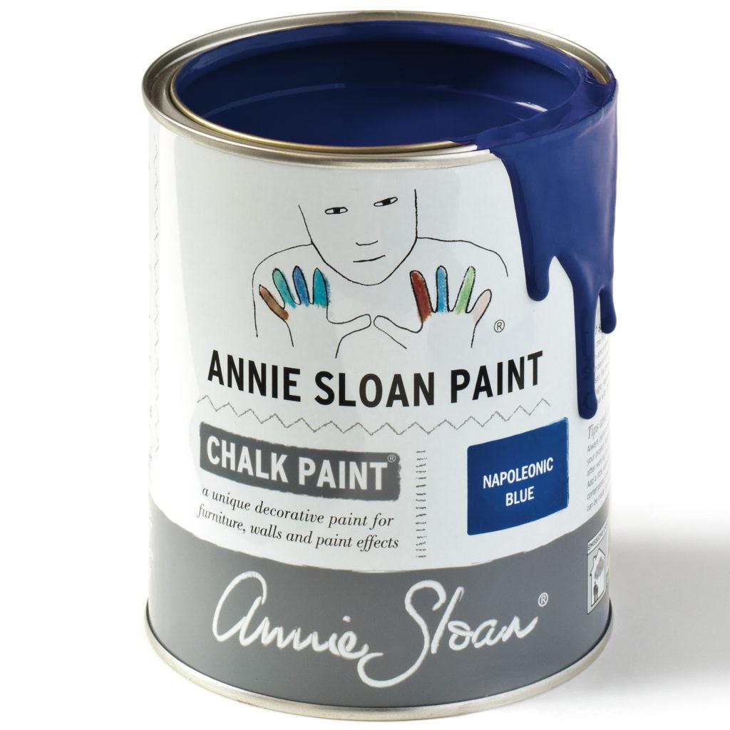 Coloris Napoleonic Blue - Chalk Paint Annie Sloan