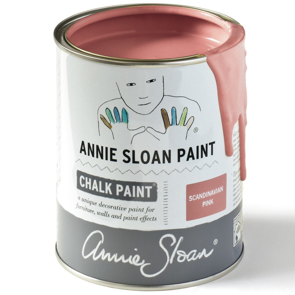 Coloris Scandinavian Pink - Chalk Paint Annie Sloan