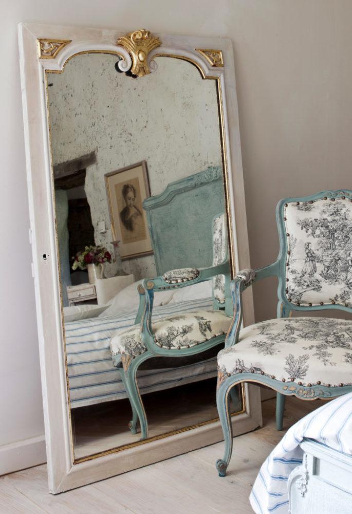 Relooker un miroir avec la chalk paint Annie Sloan