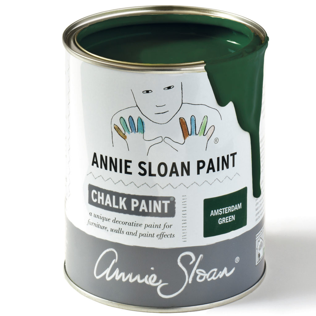 Coloris Amsterdam Green - Chalk Paint Annie Sloan