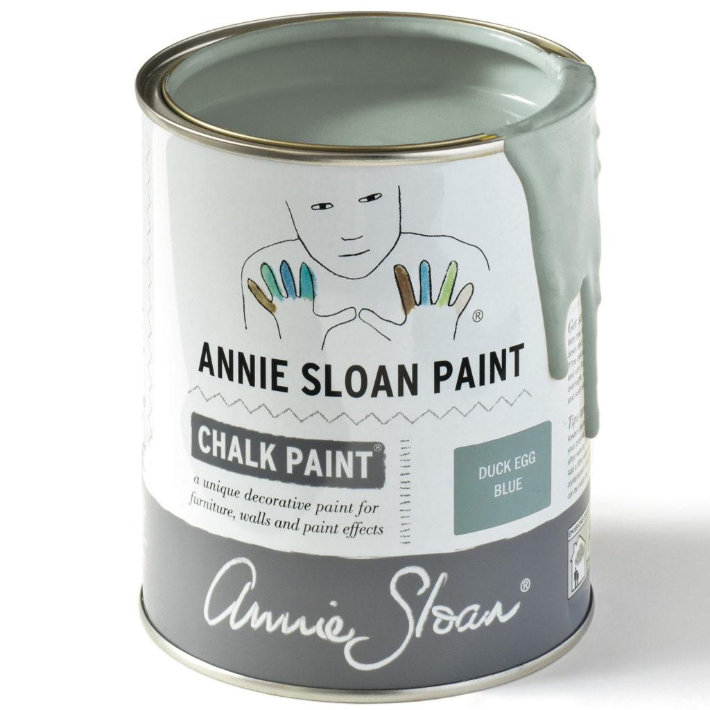 Coloris Duck Egg Blue- Chalk Paint Annie Sloan