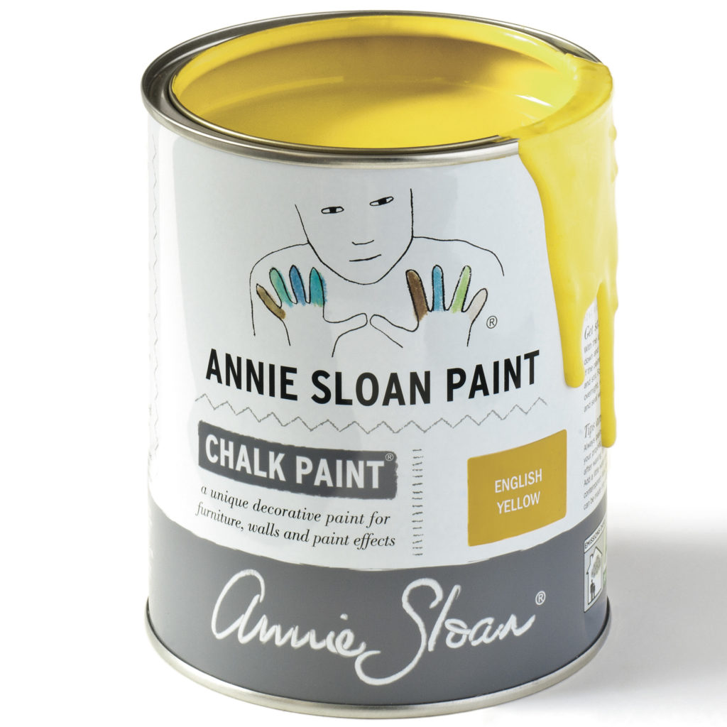 Coloris english yellow - Chalk Paint Annie Sloan