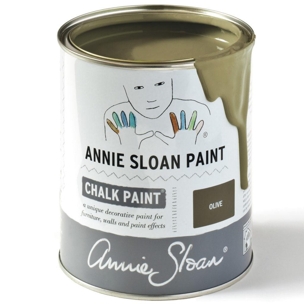 Coloris Olive- Chalk Paint Annie Sloan