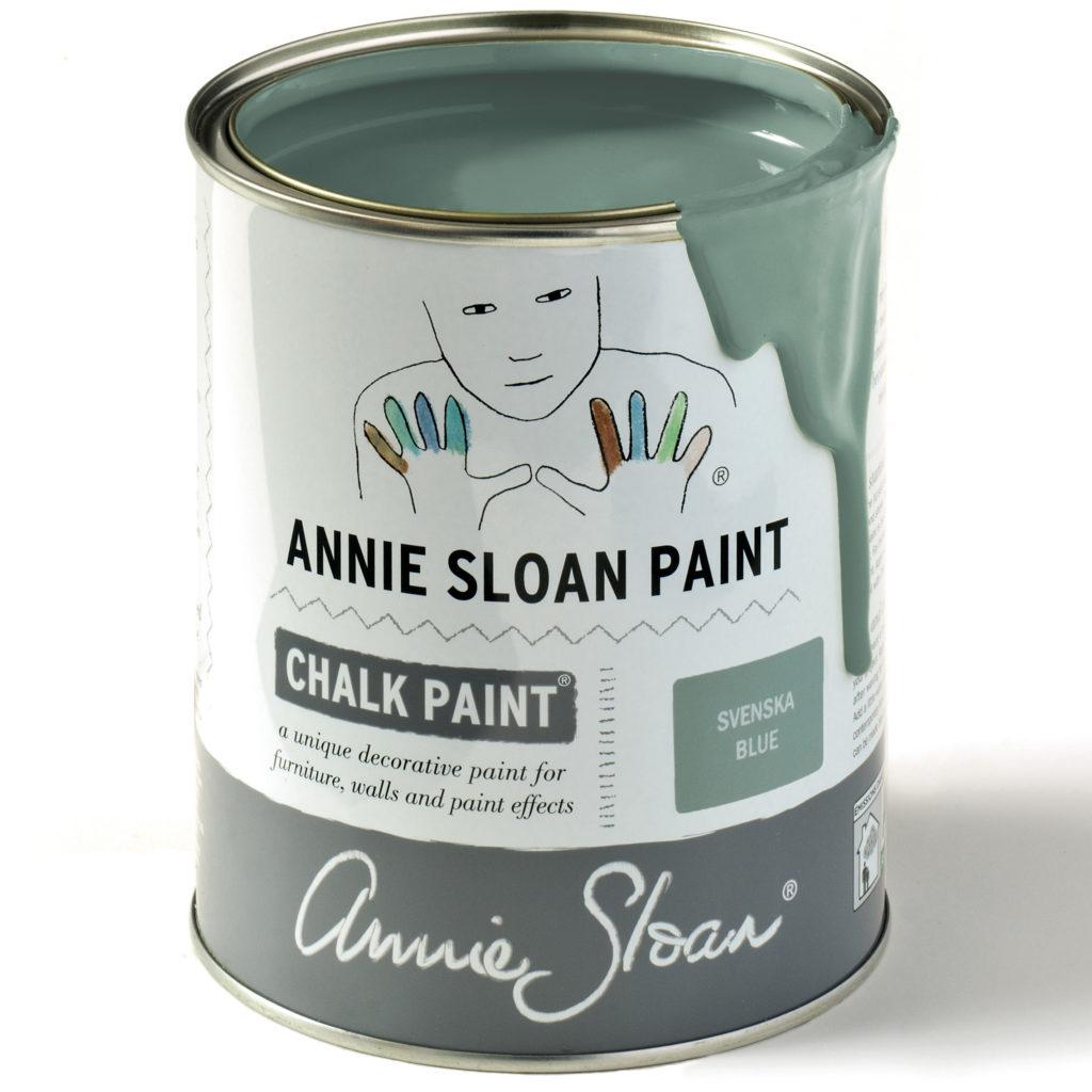 Coloris Svenska Blue- Chalk Paint Annie Sloan