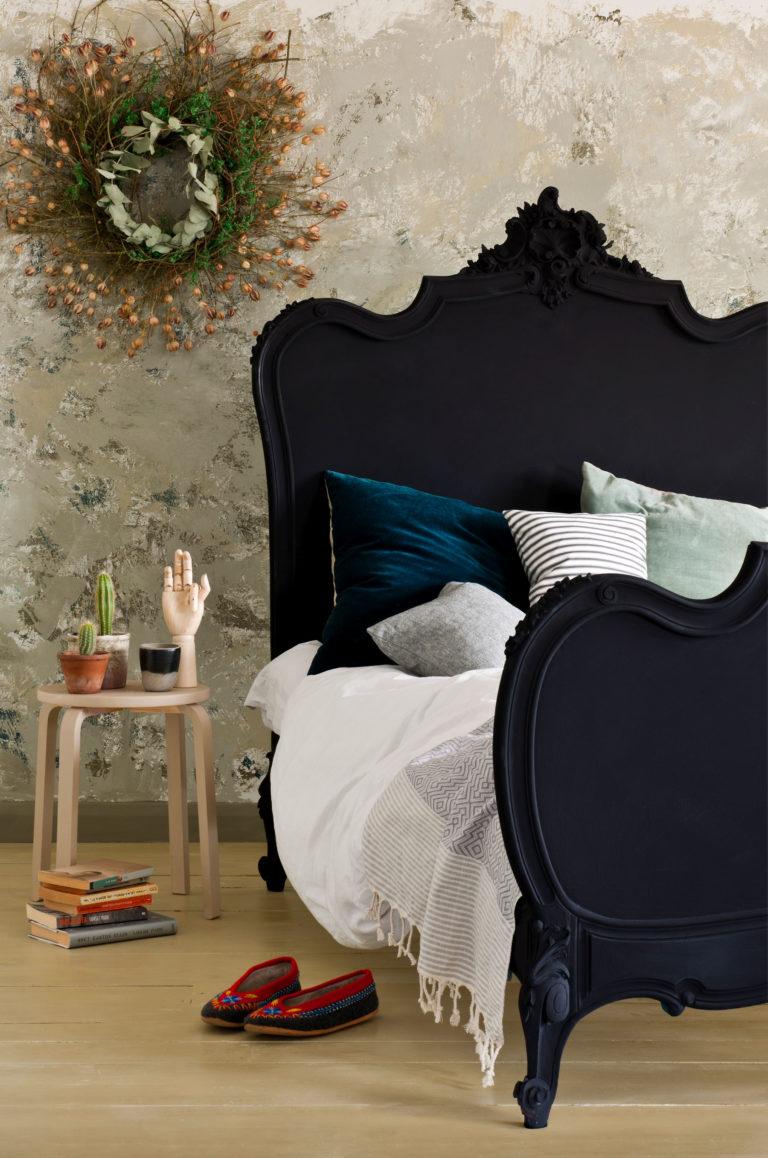 Relooker un cadre de lit avec la Chalk Paint Annie Sloan