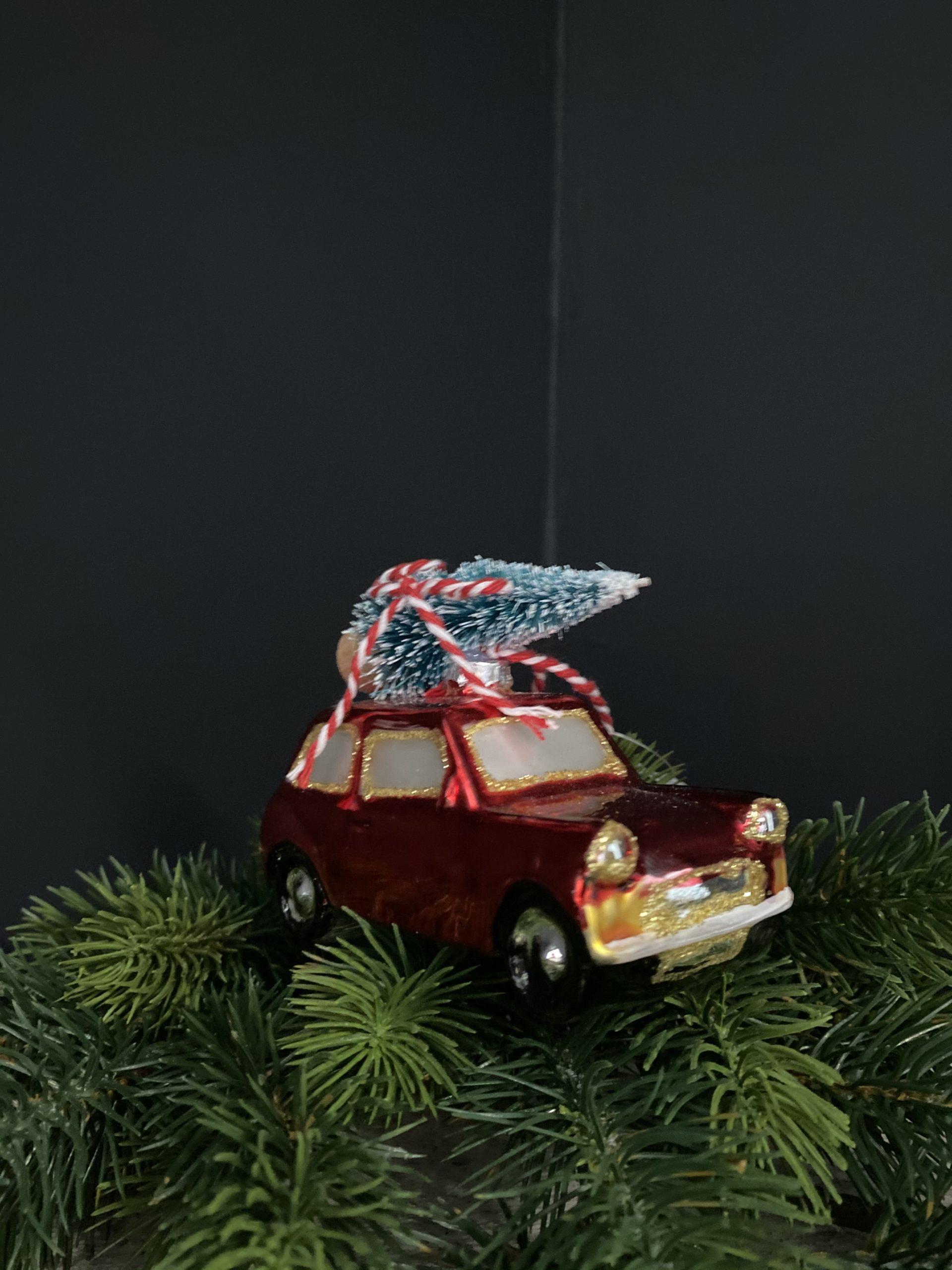 Honeywood voiture de noel