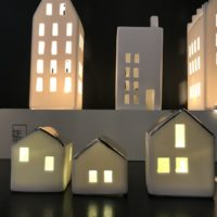 Honeywood - maisons en porcelaine