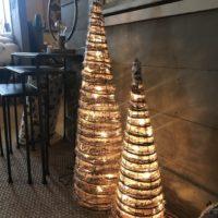 Honeywood - sapins lumineux